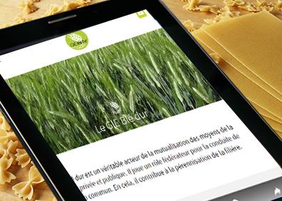 Un nouveau site internet pour le GIE Blé dur !